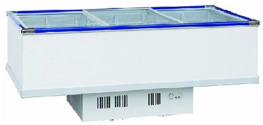 China Electrical Commercial Display Fridges , Stainless Chest Freezer 1035L Capacity supplier
