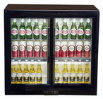 LED Lighting Back Bar Cooler 208L Capacity With High Efficiency Compressor