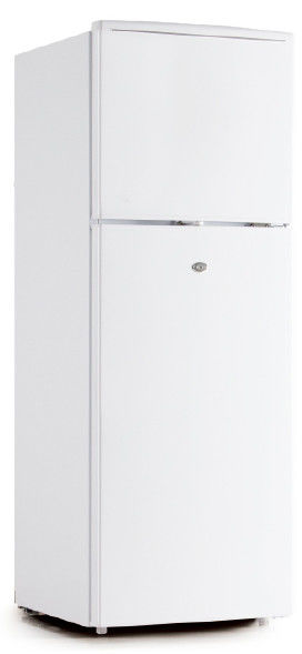Electric Fast Cooling Double Temperature Stactic Cooling Double Door Manual Defrost Refrigerator 138L High Capacity