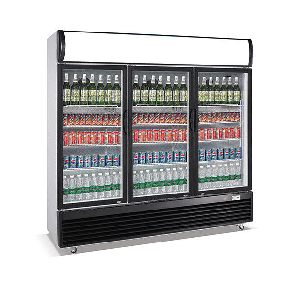 1030L upright three door defrost direct cooling display beverage cooler/display cooler/display fridge/beverage showcase