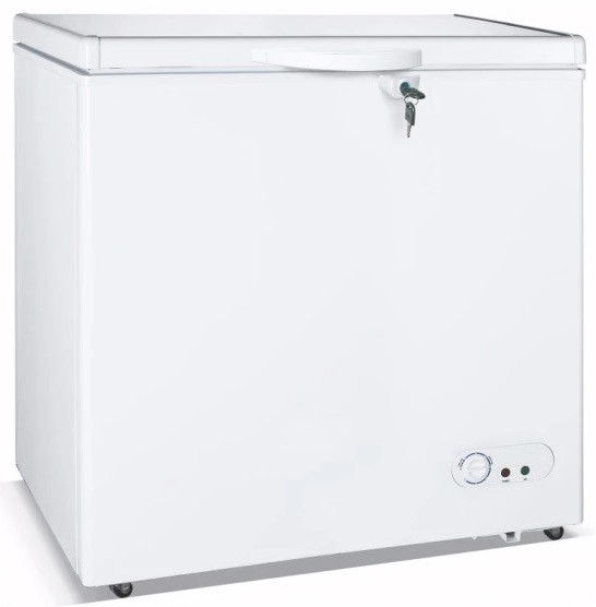 400L Commercial Chiller,Chest Freezer Mechanical Temperature Control With Inner Light