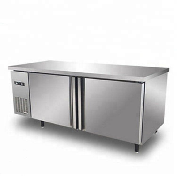 420L Commercial Kitchen Refrigerator Manual Defrost Type With Double Doors