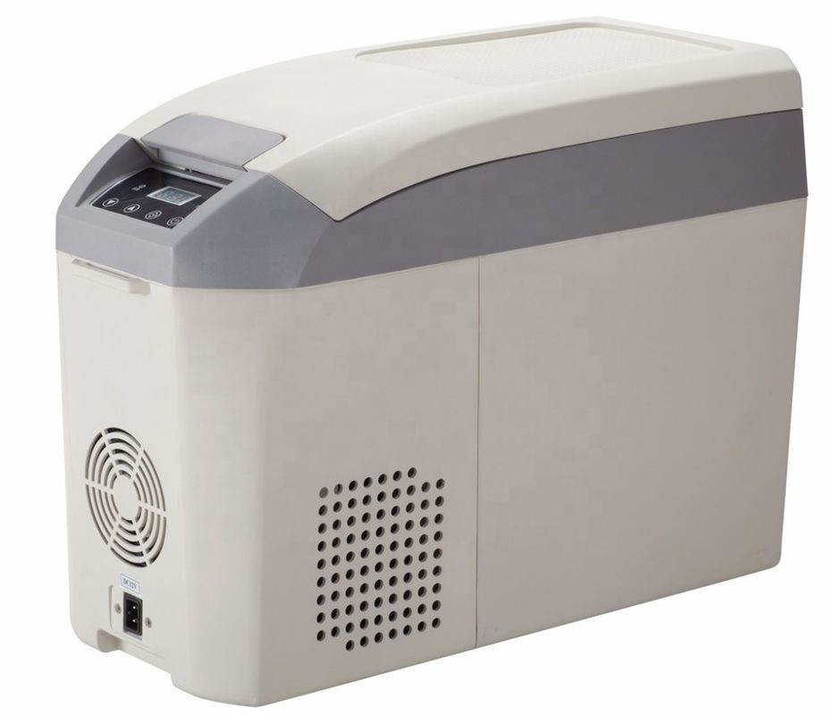 Direct Cooling Low Noise Low Power Small Car Fridge , DC12V/24V Portable Freezer Cooler,18L Car Cooler