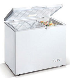China 428L Commercial Horizontal Refrigerator , Saving-energy Chest Freezer For Meat,Food,Ice Cream factory