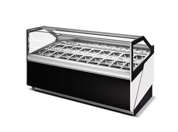 380L Ice Cream Showcase Freezer With Digital Temperature Controller and 1500mm Length