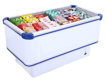 Manual Defrost 535L Commercial Chest Freezer With Static Cooling System