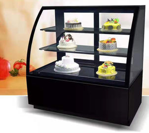 China Stainless Steel Or Marble Base Flower Display Cooler , Refrigerated Pastry Display Case distributor